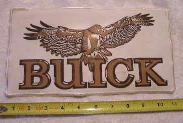 Classic Factory Buick Logo Patches