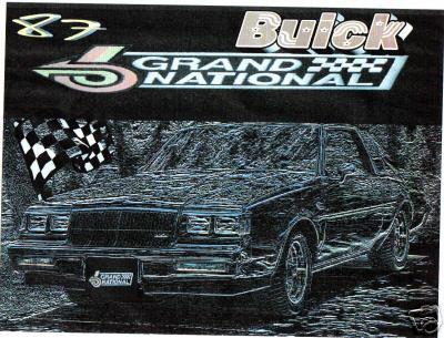 87 buick shirt