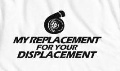 replacement for displacement