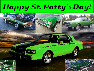 st pattys day buicks