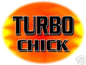 turbo chick shirt