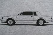 Buick Turbo T Type Regal Shirts