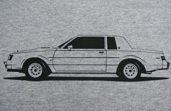 buick turbo t shirt