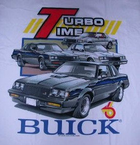 buick turbo time shirt