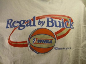 wnba buick regal shirt