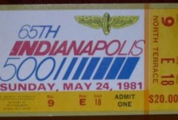 1981 Indy 500 Buick Souvenirs