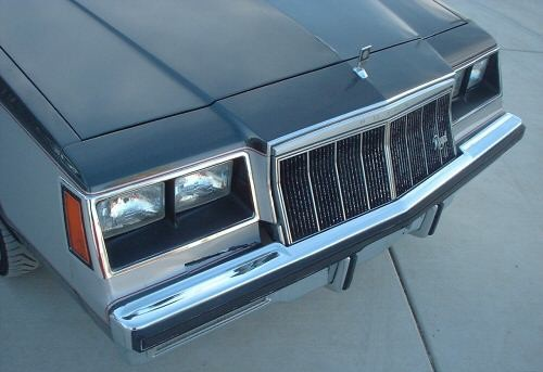 1982 buick gn front end