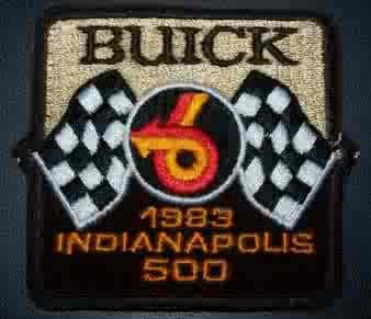 1983 indy 500 patch