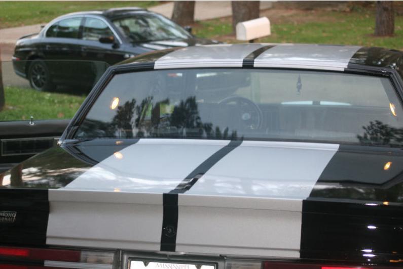 racing stripes turbo buick