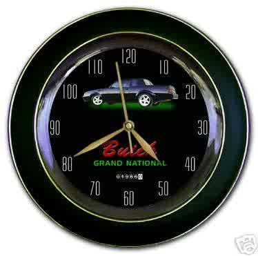 1986 turbo regal speedometer theme clock