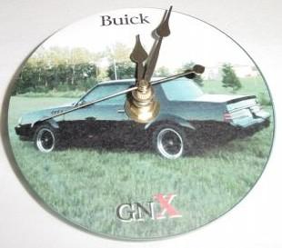1987 buick gnx clock