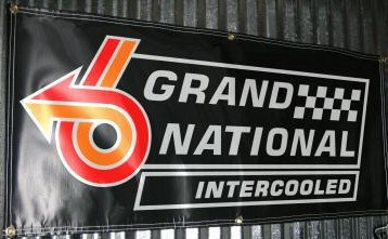 1987 buick grand national intercooled banner