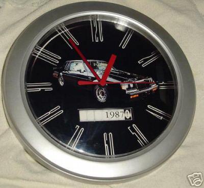 1987 buick regal clock