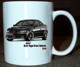 2007 Buick Regal GNX coffee mug
