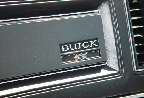 82 buick gn dashplate