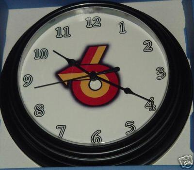 A TURBO 6 CLOCK