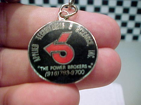 ATR the power brokers key chain