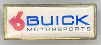 buick motorsports pin