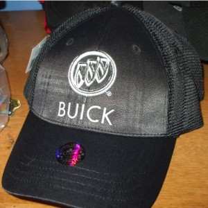 Buick Embossed Plaid Hat