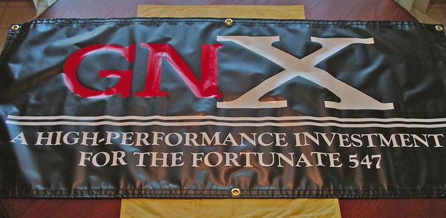 Buick GNX Garage Banner