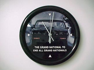 Buick GNX clock