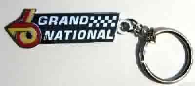 Buick Grand National emblem logo key chain