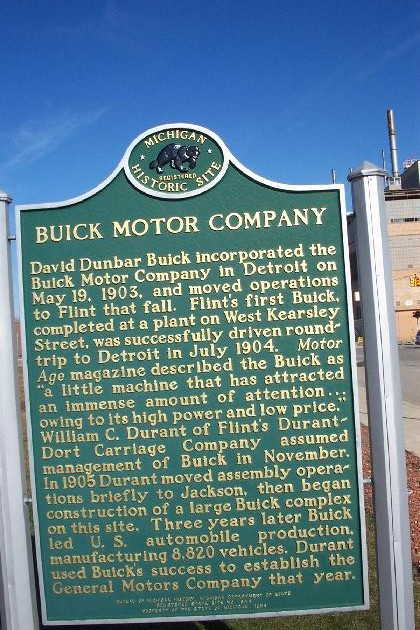 Buick city sign