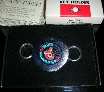 Indianapolis 500 Buick key holder