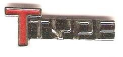 Buick Ttype pin