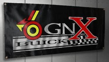 a buick GNX banner