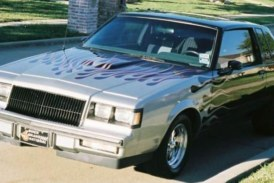 Buick Grand National Paint Job With Flames