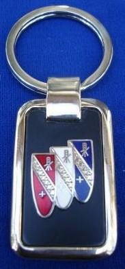 buick trishield key chain