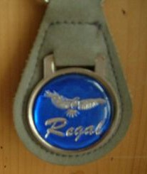 blue regal keychain