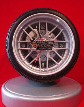 buick grand national emblem desk clock