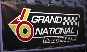 buick grand national intercooled banner