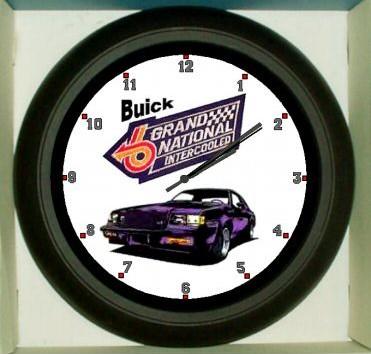 buick grand national intercooled clock