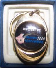 buick grand national logo key holder