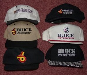 buick hat collection