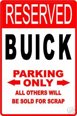 buick parking