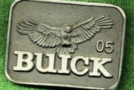 Buick Belt Buckles