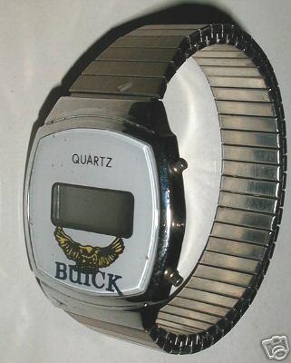 buick quartz watch