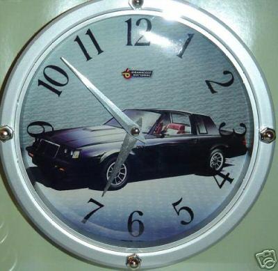 buick regal grand national clock