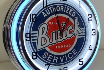 Buick Clock – Awesome Mancave, Garage or Office Accessory!