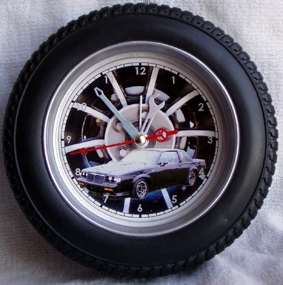 buick tire rim wall clock