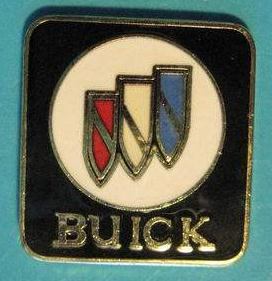 buick tri shield logo pin