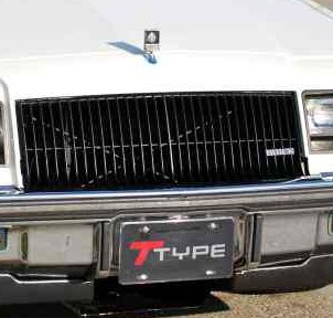 buick turbo t license plate