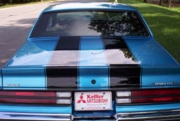 Racing Stripes on Buick Grand National & Regal T-type
