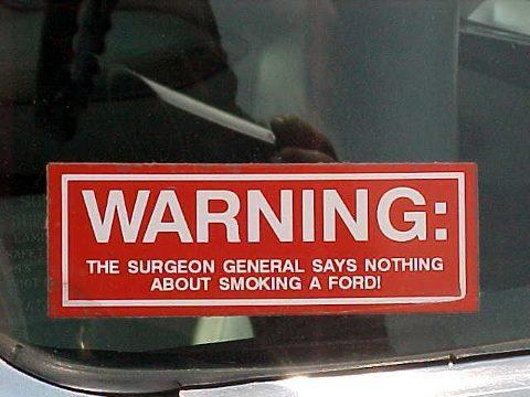 ford warning