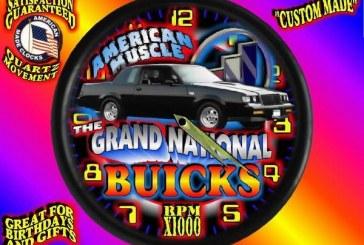 Buick Grand National Clock