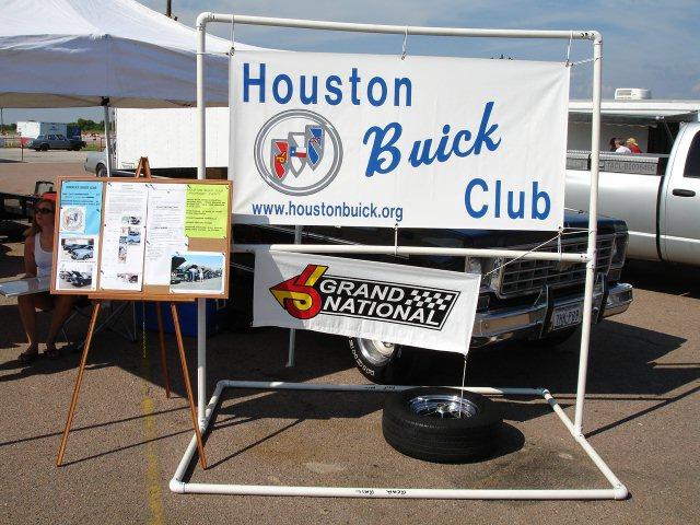 houston buick club sign